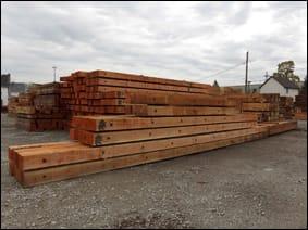 timber crane mats